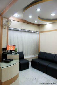 SmileSense Dental Clinic Reception