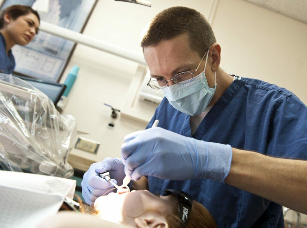 visit a dentist for dental examination