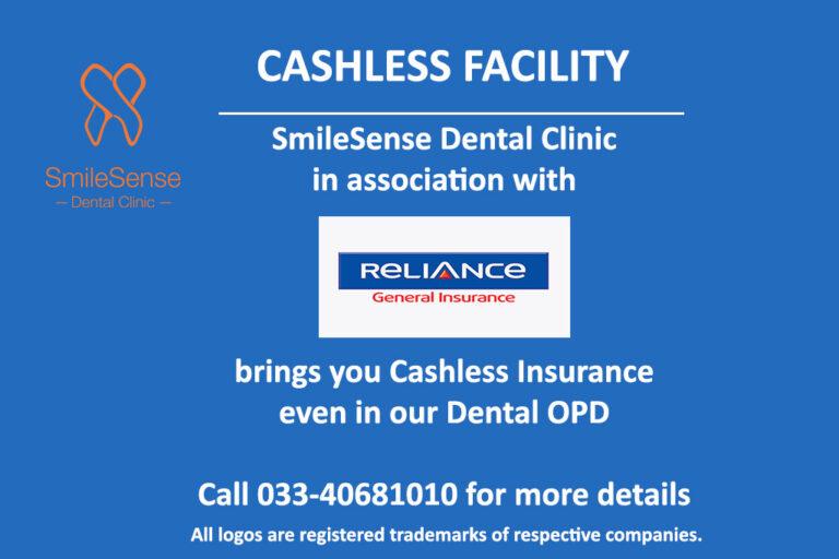 Cashless dental insurance